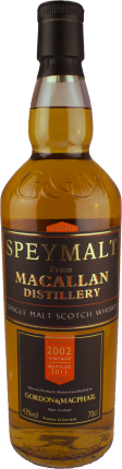 Gordon & MacPhail - Speymalt - Macallan 2002/2011