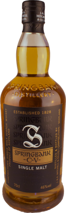Springbank - CV - 2 4/5 gebrannter Single Malt Whisky