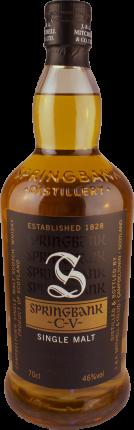 Springbank - CV - 2 4/5 gebrannter Single Malt Whisky