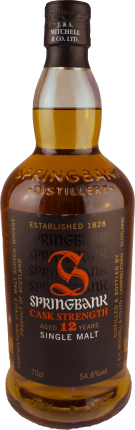 Springbank - Cask Strength - 12 Jahre Single Malt Whisky